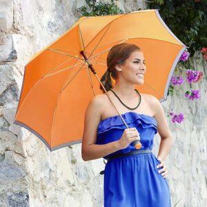 PAR 01 O paraguas frydek color naranja