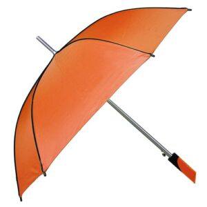 PAR 03 O paraguas cuadrado color naranja