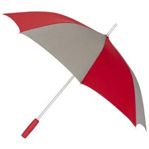 PAR 09 R paraguas elgin color gris con rojo