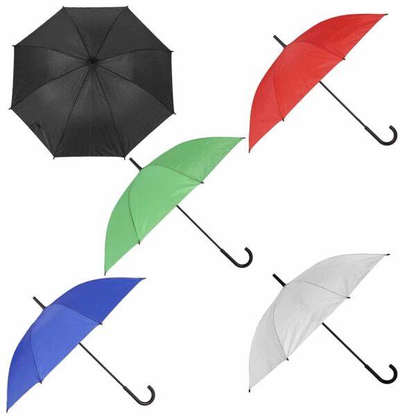 Paraguas automático con mango de