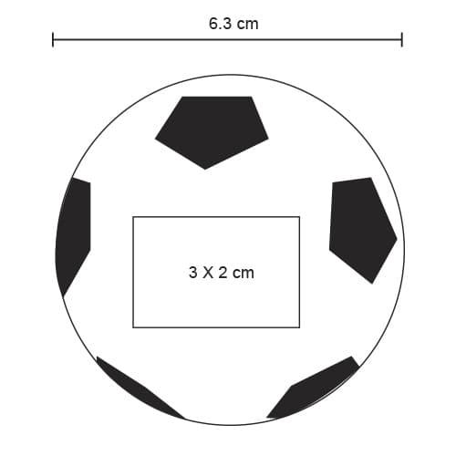 Pelota antiestrés en forma de balón de-2