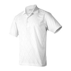 PLY 002 B-M playera yager blanco para caballero talla mediano