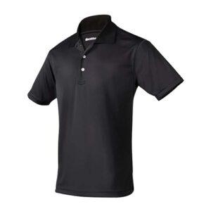 PLY 004 N-M playera clasbent negro para caballero talla mediano