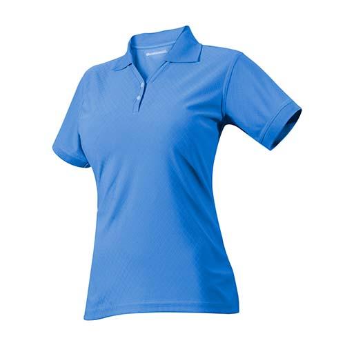 PLY 005 A-M playera ravel azul para dama talla mediano