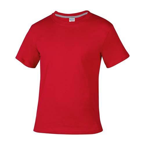 PLY 008 R-CH playera cllo redondo vitim rojo talla ch