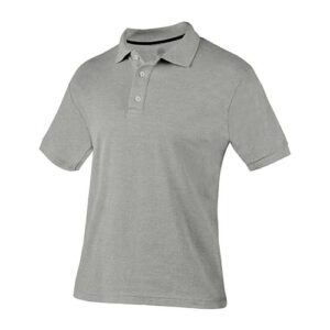 PLY 009 G-CH playera polo lutry gris talla chica