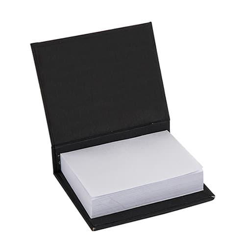 Porta notas con 150 hojas blancas.-2