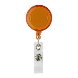 PRO 027 O portagafete retractil color naranja