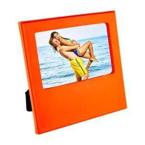 PRT 003 O portarretrato cindrel color naranja