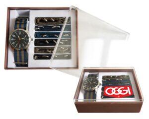 Reloj Deluxe A2206 DOBLEVELA