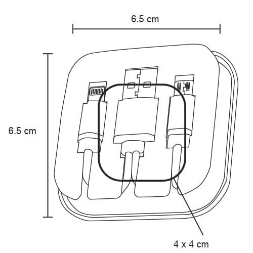Set de cables para cargar dispositivos