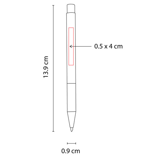 SH 8015 G boligrafo funchal color gris 3