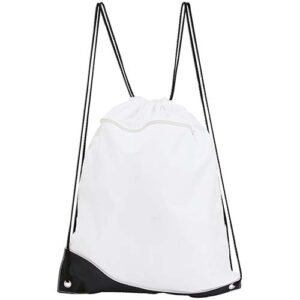 SIN 019 B bolsa mochila surf color blanco