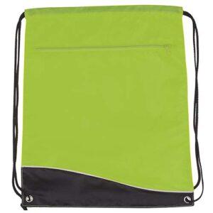 SIN 019 V bolsa mochila surf color verde