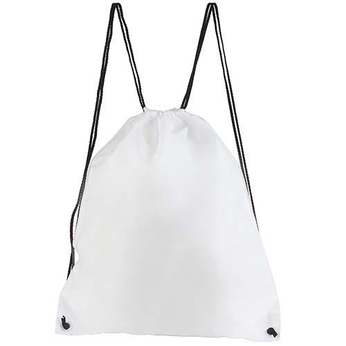 SIN 021 B bolsa mochila prisma color blanca 3