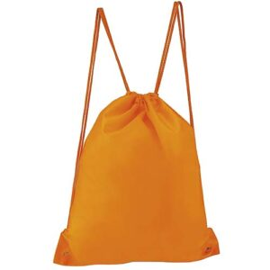SIN 021 O bolsa mochila prisma color naranja