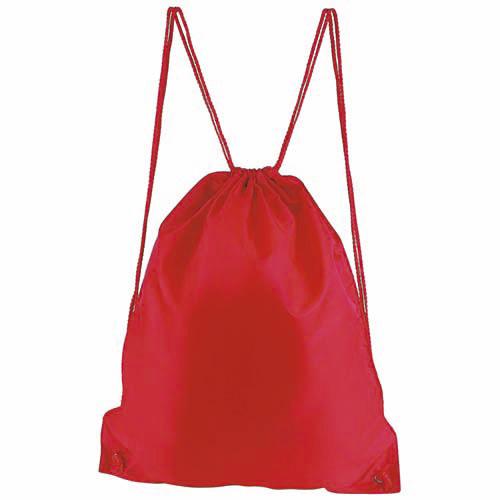 SIN 021 R bolsa mochila prisma color rojo