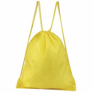 SIN 021 Y bolsa mochila prisma color amarillo
