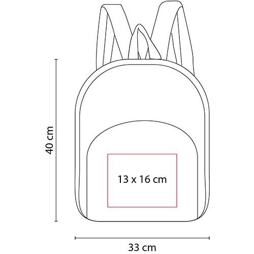 SIN 026 R mochila accent color rojo 2