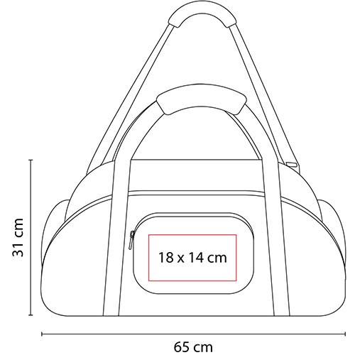 SIN 028 R maleta travel color rojo 2