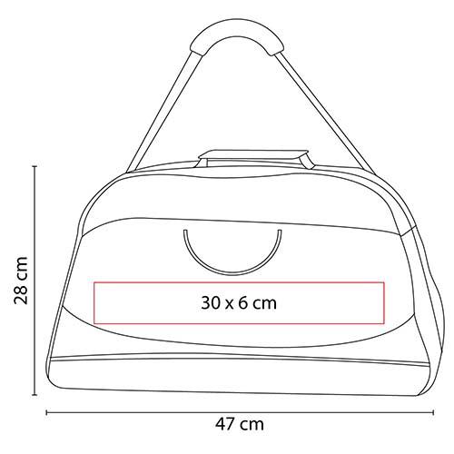 SIN 032 R maleta sport color roja 2