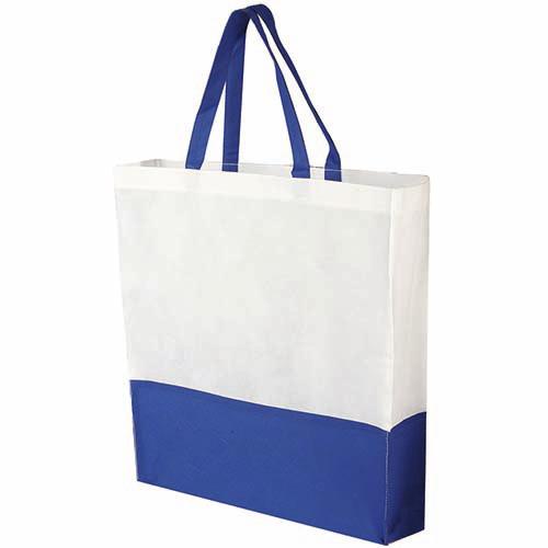 SIN 041 A bolsa shopper color azul 1