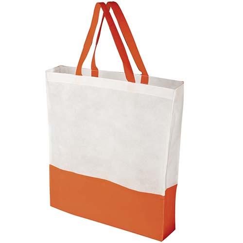 SIN 041 O bolsa shopper color naranja 3