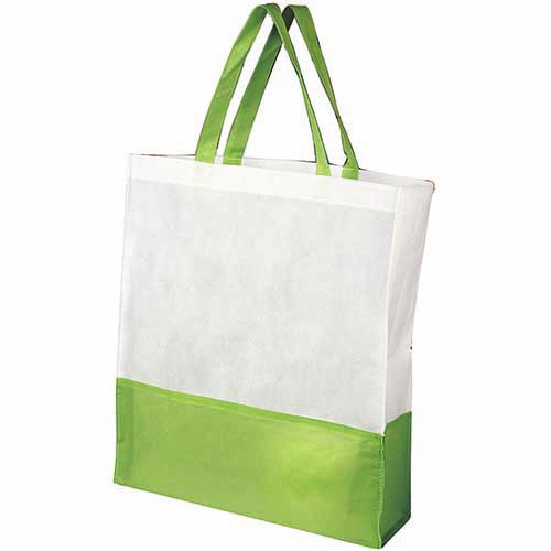 SIN 041 V bolsa shopper color verde 3