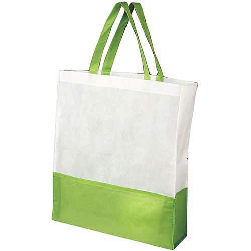 SIN 041 V bolsa shopper color verde