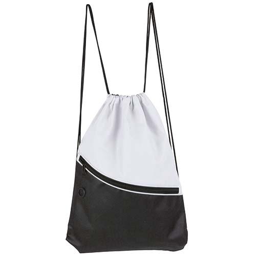 SIN 054 B bolsa mochila breton color blanco