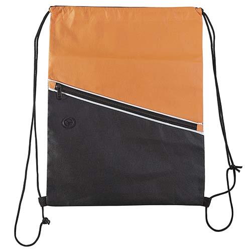 SIN 054 O bolsa mochila breton color naranja 3
