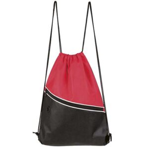 SIN 054 R bolsa mochila breton color rojo