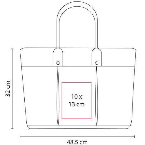 SIN 055 R bolsa lena color rojo 2
