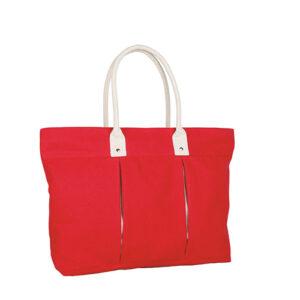SIN 055 R bolsa lena color rojo