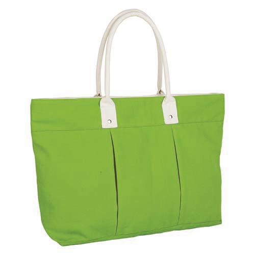 SIN 055 V bolsa lena color verde