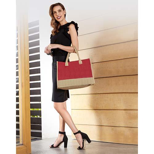SIN 062 R bolsa torba color rojo 2