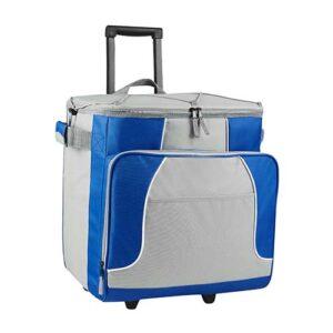 SIN 063 A hielera trolley oslo color azul