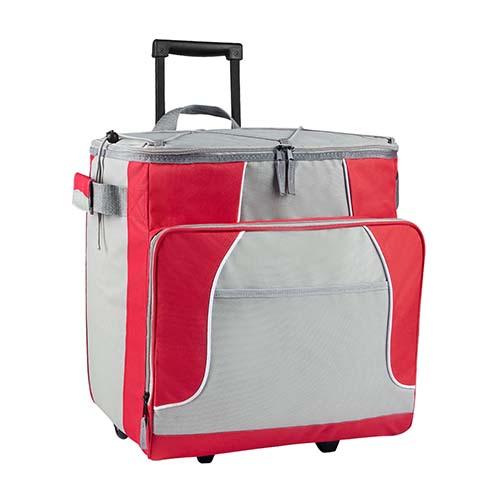 SIN 063 R hielera trolley oslo color rojo 3