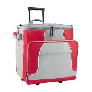 SIN 063 R hielera trolley oslo color rojo