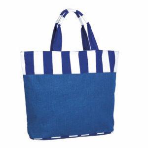 SIN 065 A bolsa mallorquin color azul