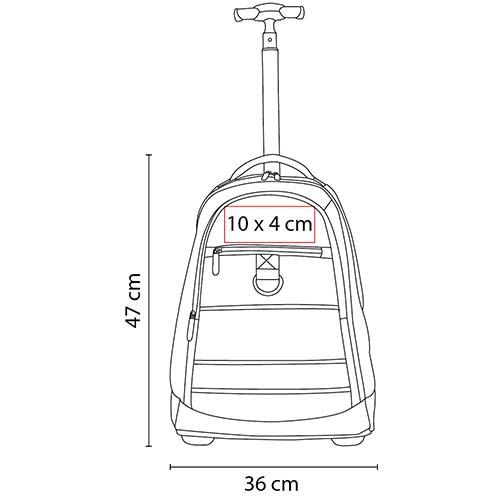 SIN 076 N mochila trolley kronberg color negro 7