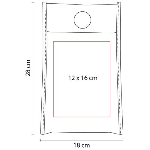 SIN 078 R bolsa mariel color rojo 2