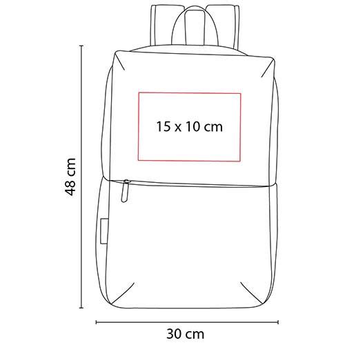 SIN 083 A mochila suhre color azul 8