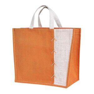 SIN 087 O bolsa almez color naranja