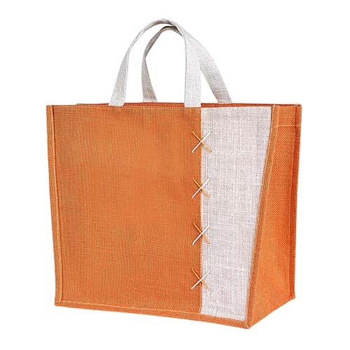 SIN 087 O bolsa almez color naranja 4