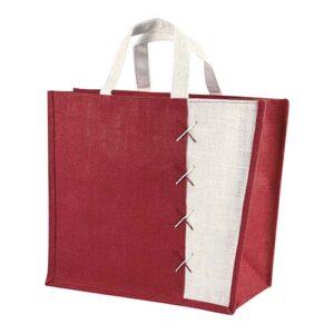 SIN 087 R bolsa almez color rojo