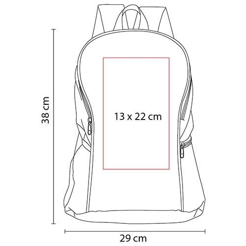 SIN 092 R mochila springbok color rojo 2