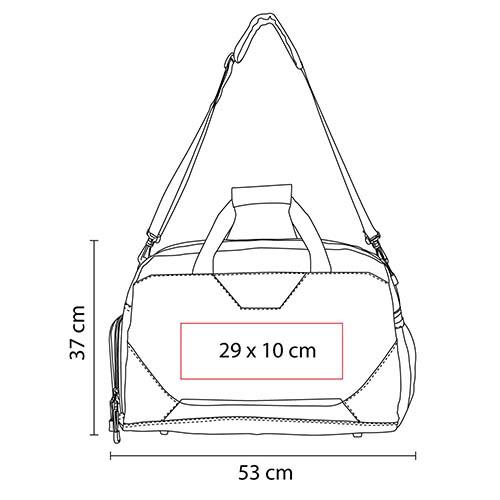 SIN 093 A maleta asgard color azul 3