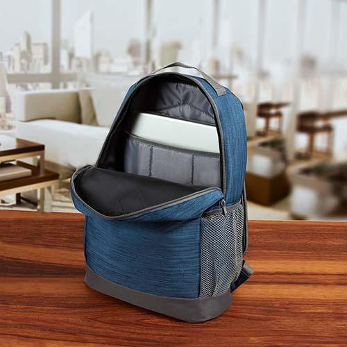 SIN 096 A mochila wally color azul