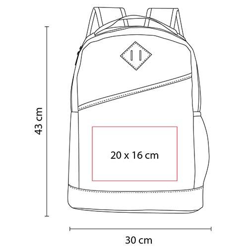 SIN 096 R mochila wally color rojo 2